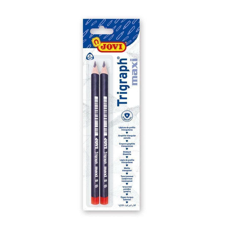 Ołówki grafitowe B 10mm/175mm
